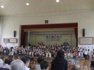 東小学校音楽会
