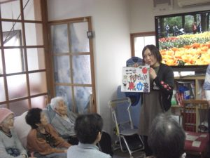 長野社会福祉専門学校の学生さんとの交流