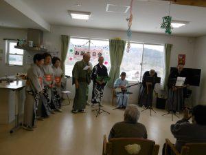 12月は焼き芋会・クリスマス会を行いました。