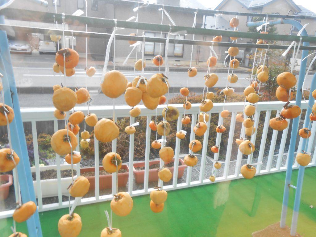 季節の風物詩 干し柿